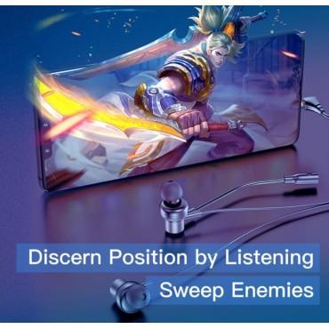 Ασύρματα gaming Ακουστικά AWEI es-1801 με μικρόφωνο  (Μαύρο)