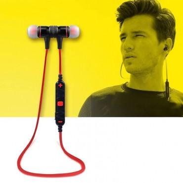 Ασύρματα Ακουστικά Bluetooth – Αwei A920BL Red