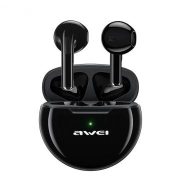 Ασύρματα ακουστικά bluetooth 5.0 - AWEI T17 (Μαύρο)