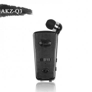 Ασύρματο Ακουστικό Bluetooth akz-q3 - Μαύρο