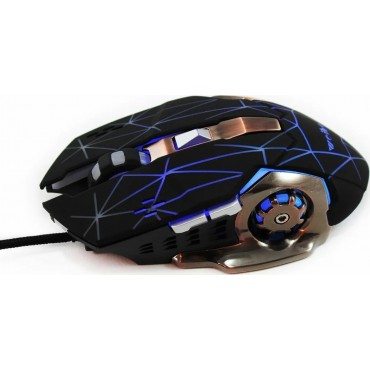 Gaming ενσύρματο ποντίκι weibo s200 black