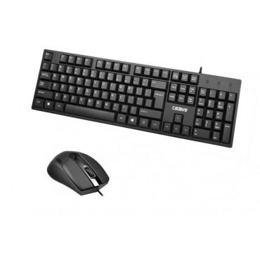 Ενσύρματο πληκτρολόγιο και ποντίκι - cadeve - 6002