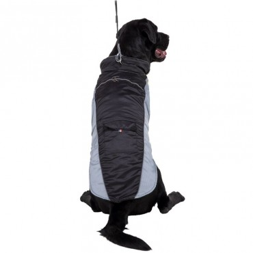 Αδιάβροχο αντιανεμικό μπουφάν μαύρο