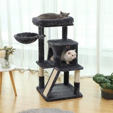 Γατόδεντρο crafty 95cm grey black