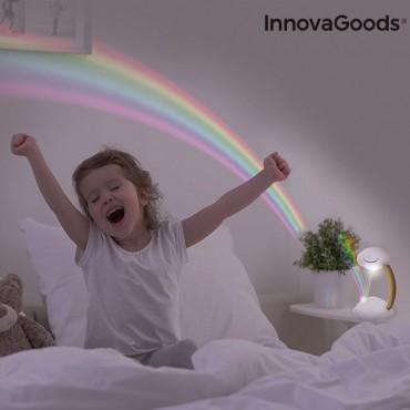 Προτζέκτορας & Φωτάκι Νυκτός Rainbow InnovaGoods