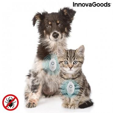 Επαναφορτιζόμενη Συσκευή Υπερήχων Κατά των Παρασίτων για κατοικίδια,  InnovaGoods
