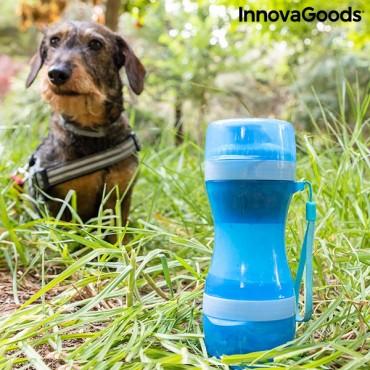 Μπουκάλι με δοχεία νερού και τροφής 2 σε 1 Pettap InnovaGoods