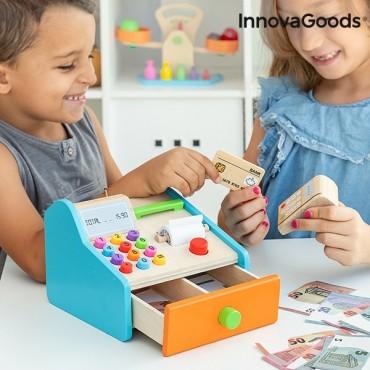 Ξύλινη Παιδική Ταμειακή Μηχανή InnovaGoods