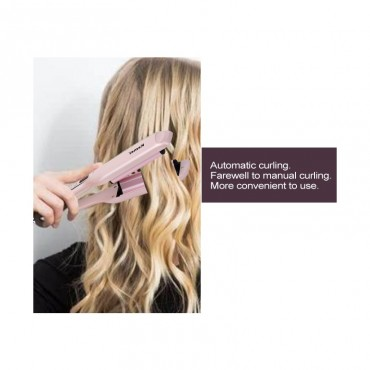 Μπουκλίερα Μαλλιών με Ψηφιακές ενδείξεις  KEMEI KM 2086