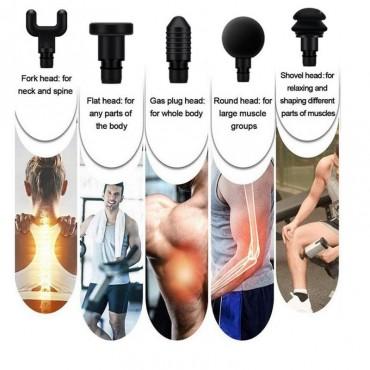 Συσκευή Δονήσεων για Μασάζ, Ανάκαμψη και Αποκατάσταση Μυών oem 5 κεφαλές