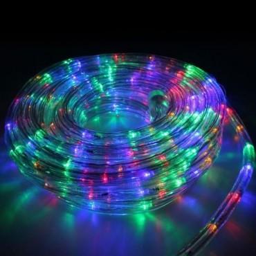Χριστουγεννιάτικος Φωτοσωλήνας Led 6m Σε Παστέλ Χρωματισμό με 8 Προγράμματα Φωτισμού