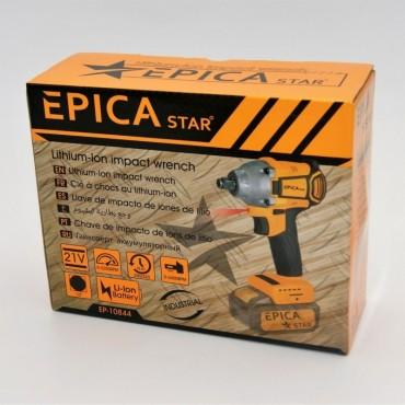 Επαναφορτιζόμενος παλμικός βιδολόγος  21v epica ep10844