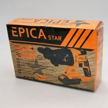 Επαναφορτιζόμενο κρουστικό τρυπάνι 21v epica ep10845