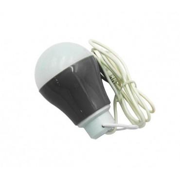 LED usb λάμπα grey