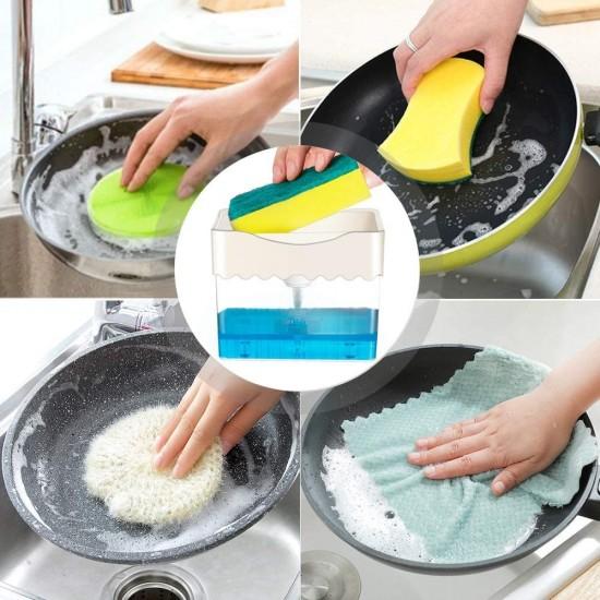 Πρέσα σαπουνιού με σφουγγάρι