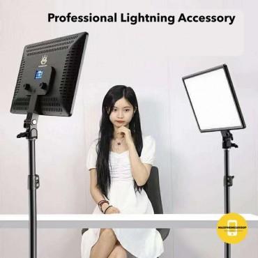 Επαγγελματικό Φωτογραφικό Φωτιστικό Δαχτυλίδι Ring Lamp Light LED USB 36-25cm με τρίποδο
