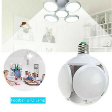 Bluetooth αναδιπλούμενη led λάμπα - φωτιστικό E27 -40W