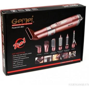 Σετ Περιποίησης Μαλλιών 7 σε 1 για Επαγγελματικό Styling  GM-4831 - Gemei