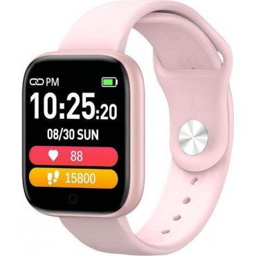 Smartwatch-Bluetooth T85 (Pink)