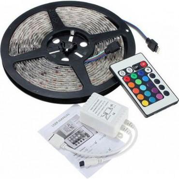 Ταινία LED  12V Με Κοντρόλ /Σετ Πλήρες 5 μέτρα IP65 LE-LI-0729