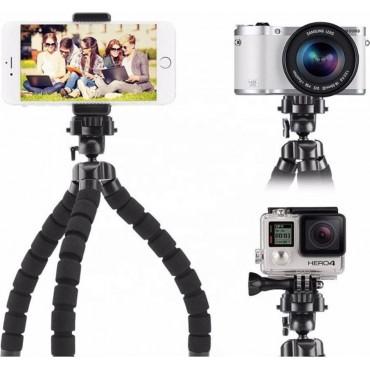 Bluetooth Χειριστήριο Και Τρίποδο Για Selfie Φωτογραφίες EZRA-ST04 Μαύρο