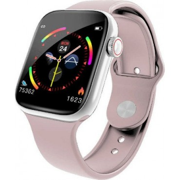 Smartwatch-Bluetooth W4 (Pink)