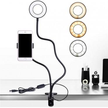 Φωτογραφικό Φωτιστικό Δαχτυλίδι Ring Lamp Light 2 σε 1