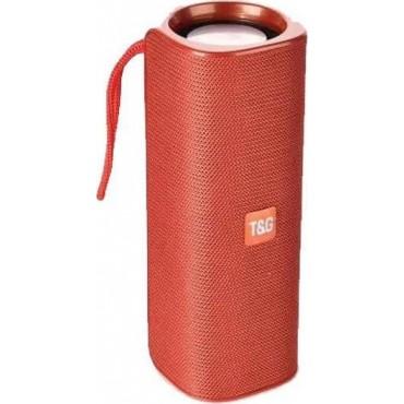 Φορητό Ασύρματο Ηχείο Bluetooth T&G TG-531 με Subwoofer & Speakerphone κόκκινο