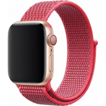 Υφασμάτινο λουράκι για smartwatch φουξ 38-40mm