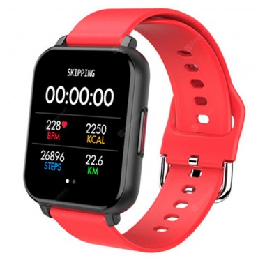 Smartwatch - bluetooth t82 (red)
