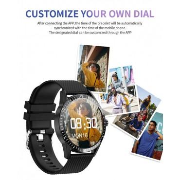Smartwatch Y20 bluetooth κλήσεις μαύρο