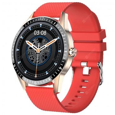 Smartwatch Y20 bluetooth κλήσεις κόκκινο