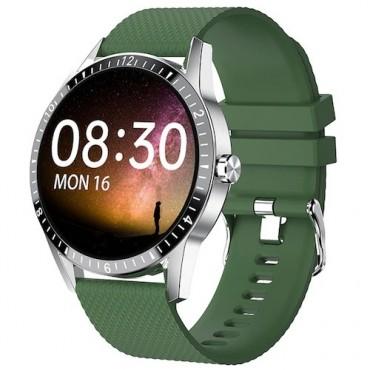 Smartwatch Y20 bluetooth κλήσεις πράσινο
