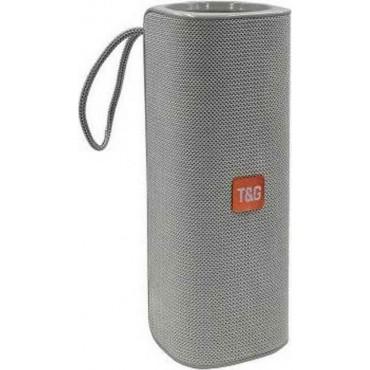 Φορητό Ασύρματο Ηχείο Bluetooth T&G TG-531 με Subwoofer & Speakerphone γκρι