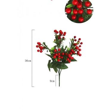 Διακοσμητικό κλαδί γκι 36cm