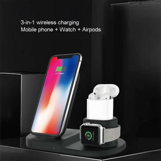 Whireless fast charger 10w 3 in 1 oem