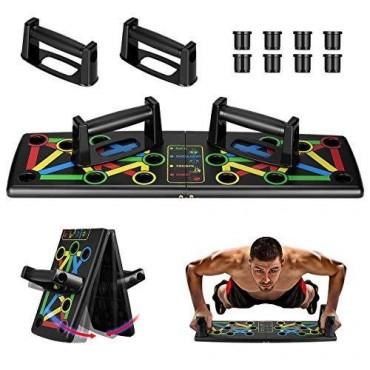 Αναδιπλούμενη σανίδα push ups με λαβές - Foldable push up board