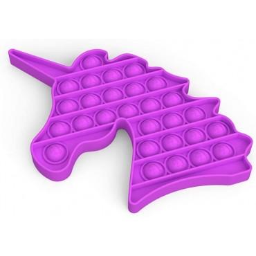 Pop It Παιχνίδι Στρες Ανακούφισης Παζλ Bubble Sensory Decompression unicorn