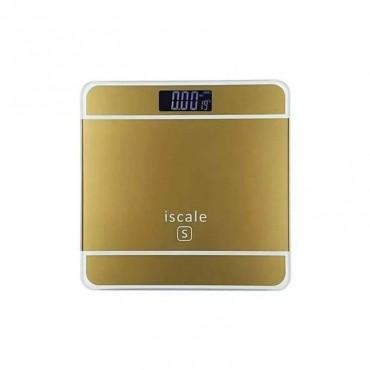 Ψηφιακή Ζυγαριά Μπάνιου με Οθόνη LCD Δυνατότητα μέχρι 180Kg ISCALE