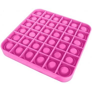 Pop It Παιχνίδι Στρες Ανακούφισης Παζλ Bubble Sensory Decompression square