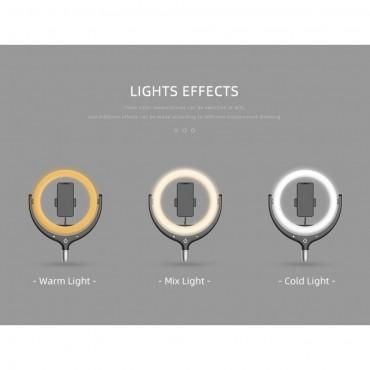 Επαγγελματικό Φωτογραφικό Φωτιστικό Δαχτυλίδι Ring Lamp Light LED USB 30cm με βάση