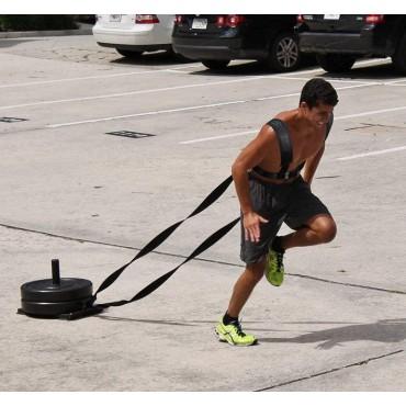 Ζώνη Πλάτης - Ιμάντες Αντίστασης Γυμναστικής - Fitness Sled Harness