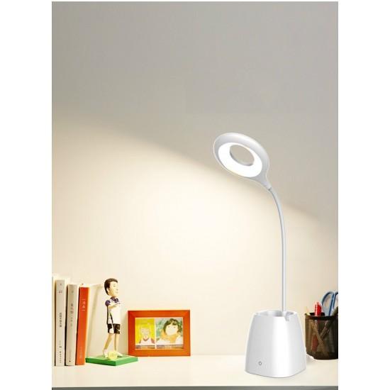 LED Επαναφορτιζόμενη επιτραπέζια λάμπα με μολυβοθήκη