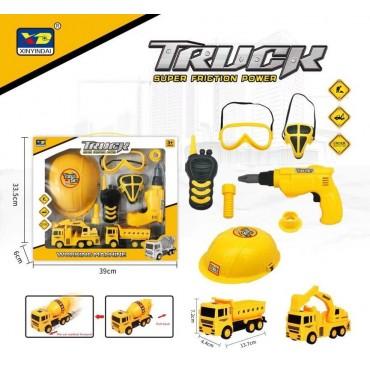 Set truck tool kit 838-15b