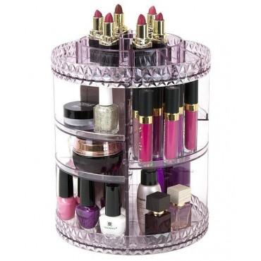 Θήκη Οργάνωσης Καλλυντικών περιστρεφόμενη 360 – Cosmetic Organizer