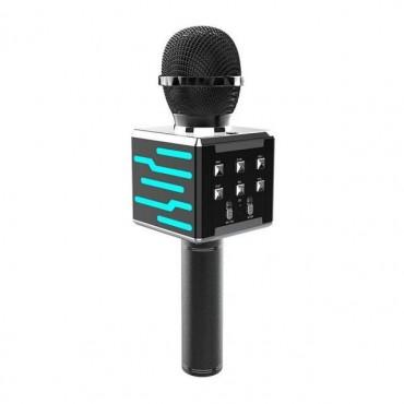 Ασύρματο μικρόφωνο Επαγγελματικό με Ενσωματωμένο Ηχείο black – ds868 – OEM