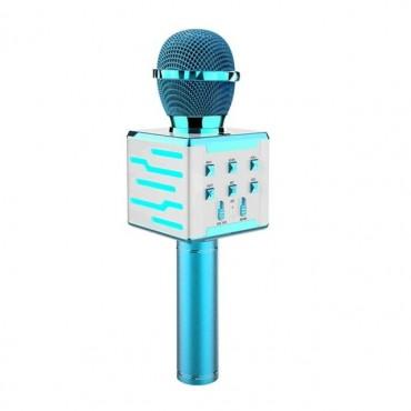 Ασύρματο μικρόφωνο Επαγγελματικό με Ενσωματωμένο Ηχείο blue– ds868 – OEM