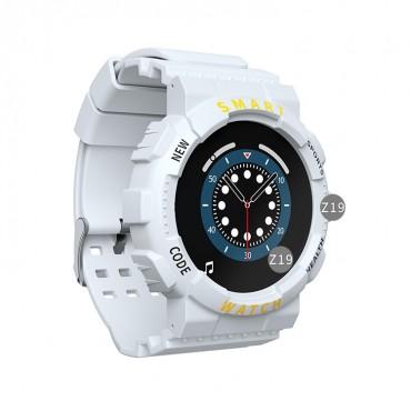 Smartwatch bluetooth-κλήσεις z19 white
