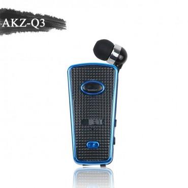 Ασύρματο Ακουστικό Bluetooth akz-q3 - Μαύρο-μπλε