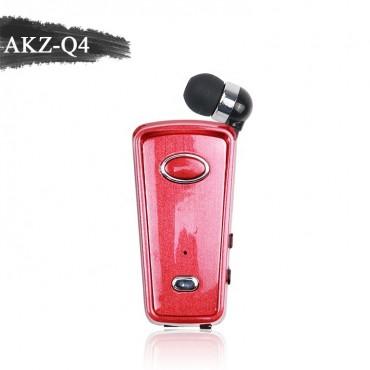 Ασύρματο Ακουστικό Bluetooth akz-q4 - κόκκινο